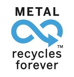 La banda stagnata è un prodotto ecologico, sostenibile e riciclabile al 100%.